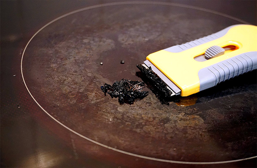 limpiar cocina electrica